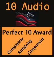 Perfect 10 Award - 10audio.com STP-SE stage 2