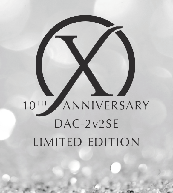 10th anniversary dac using ESS Sabre 9038PRO DAC chip and Femto Grade Clock