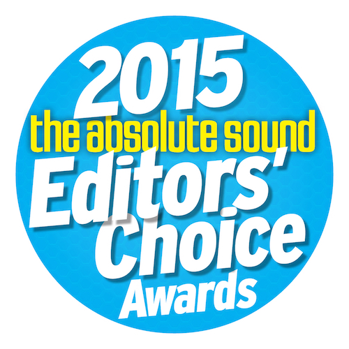 2015 The Absolute Sound Editors' Choice Award