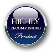 "Mono and Stereo ""Highly Recommended Product"" award logo"