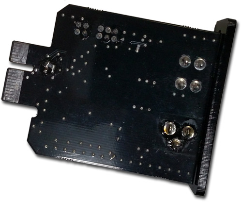 Power module for use with the PS-1 modular linear power supply with Easily select 5v, 9v, 12v or 15v -- common voltages for many DC devices