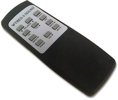 Fully functional remote control with Unbalanced to Balanced conversion