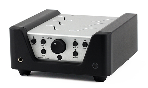 Built-in ESS Sabre DAC,  24/96kHz USB input, and 24/192 Toslink and Coaxial input