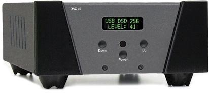 dac-2 is a class A digital preamplifier with remote control