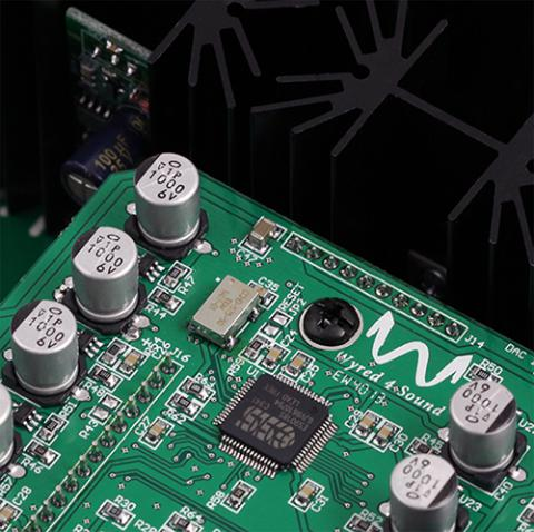 optimizes audio quality by lowering phase jitter by over 80% as well as greatly reducing phase noise in the digital circuit