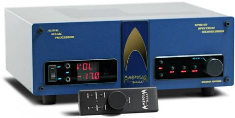available in black or blue faceplate, top quality phono preamplifier