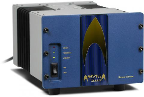 Availabe in blue of black face plate, Mono block amplifiers
